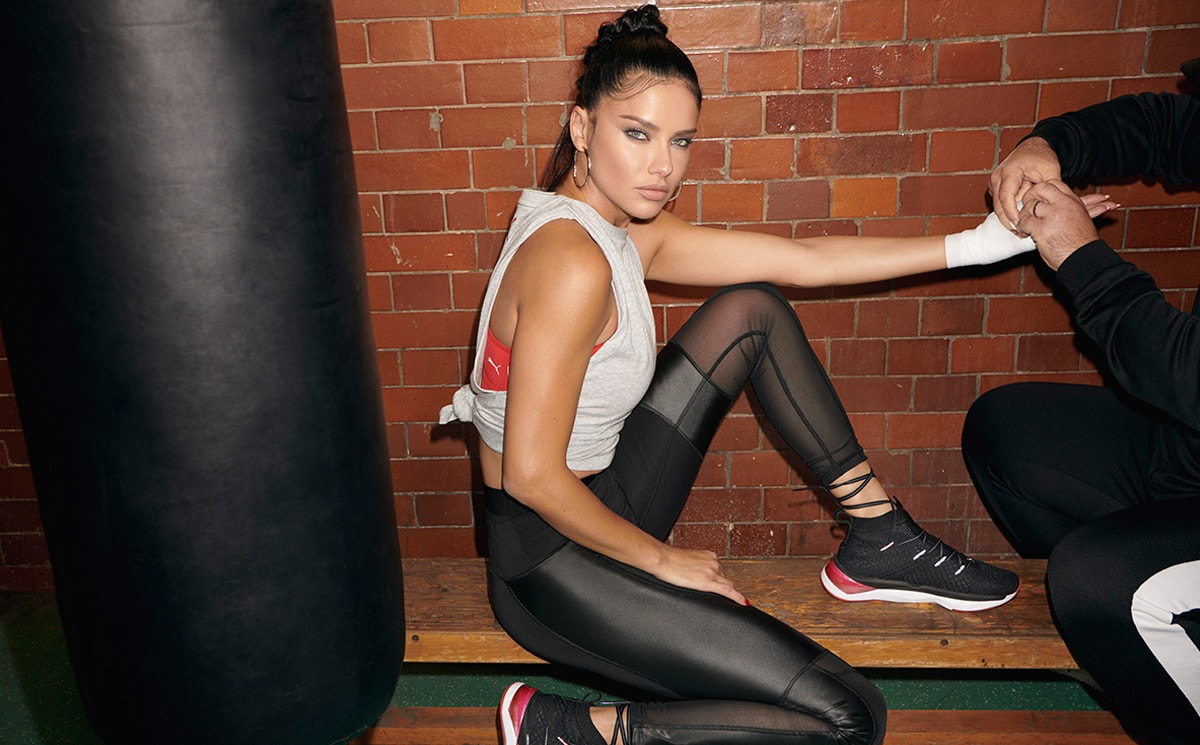 Puma debuts collaboration with model Adriana Lima