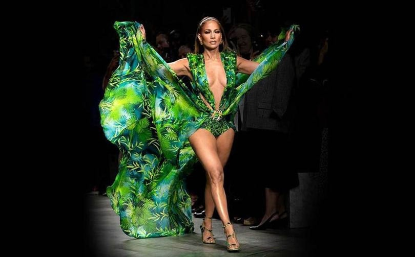 Hen Refurbishment Sprout  Versace sues Fashion Nova for copying infamous jungle dress