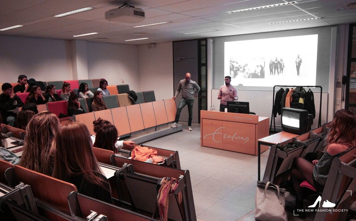 Rotterdam School of Management's NFS hosting seminar with Gant