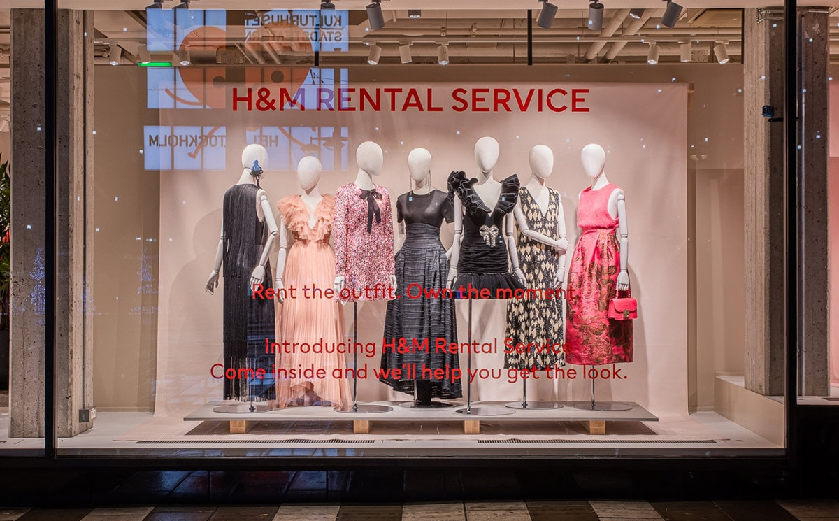 H&M launches previously announced rental service pilot