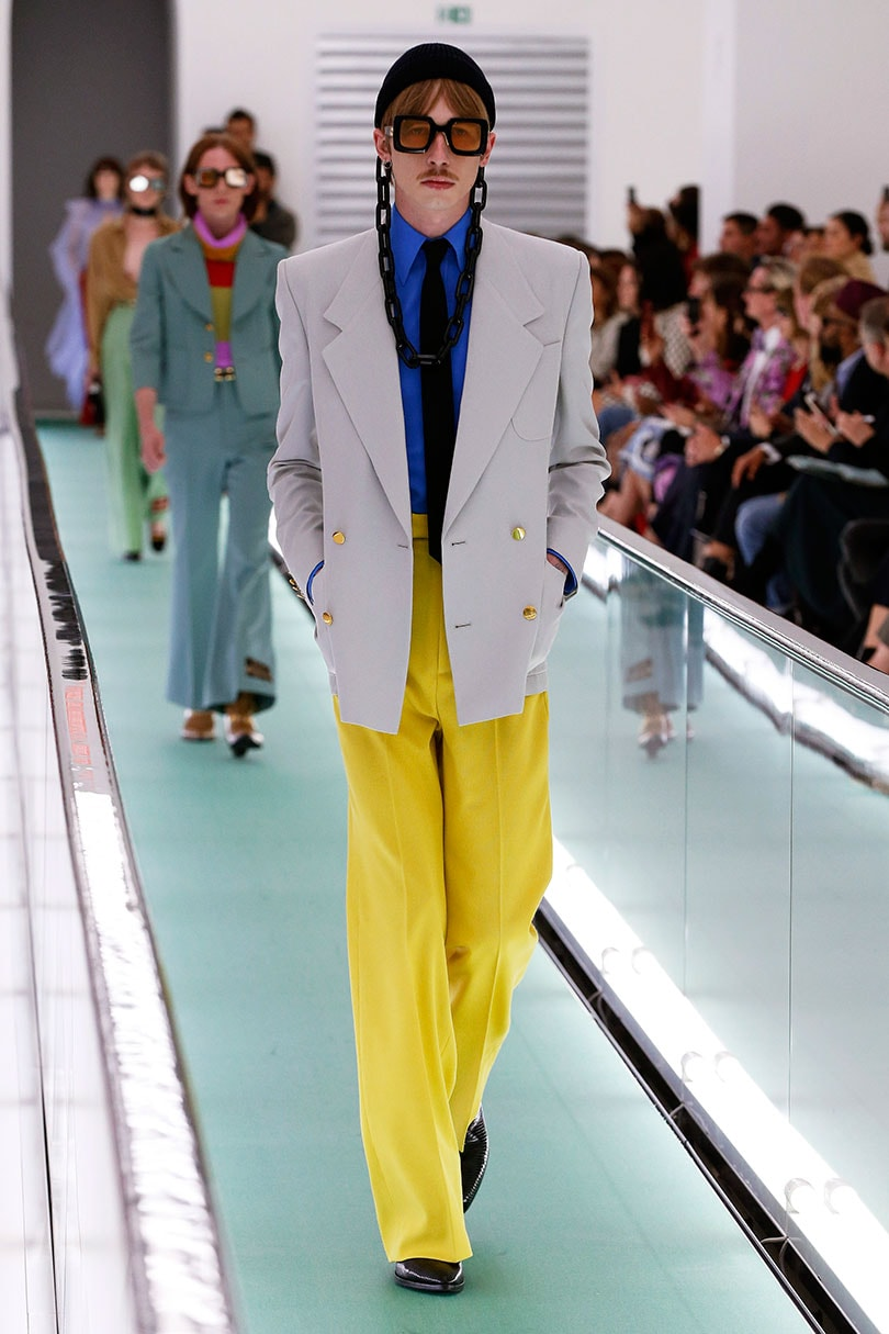 New masculinity and human contact: colour and lifestyle trends for SS21