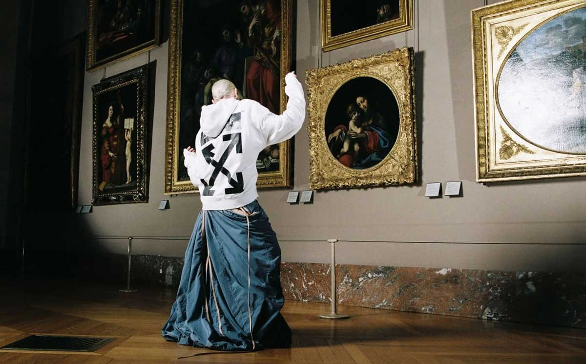 Virgil Abloh launches Leonardo da Vinci capsule with the Louvre