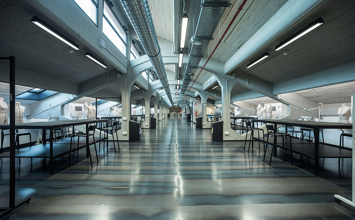 Inside The Third Campus Of Polimoda In Manifattura Tabacchi