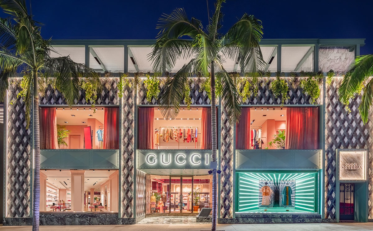 Gucci opens first U.S. restaurant in Beverly Hills