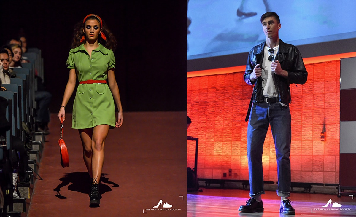 Vintage Fashion Show presented by Erasmus University's NFS