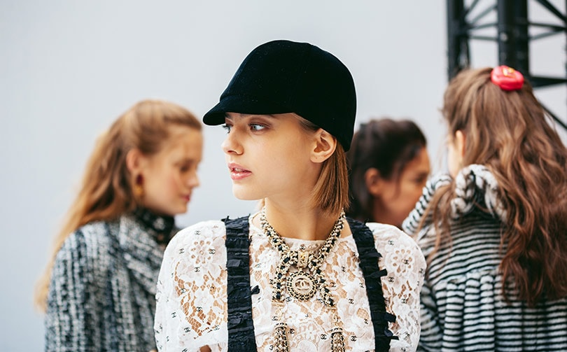 Chanel halts production