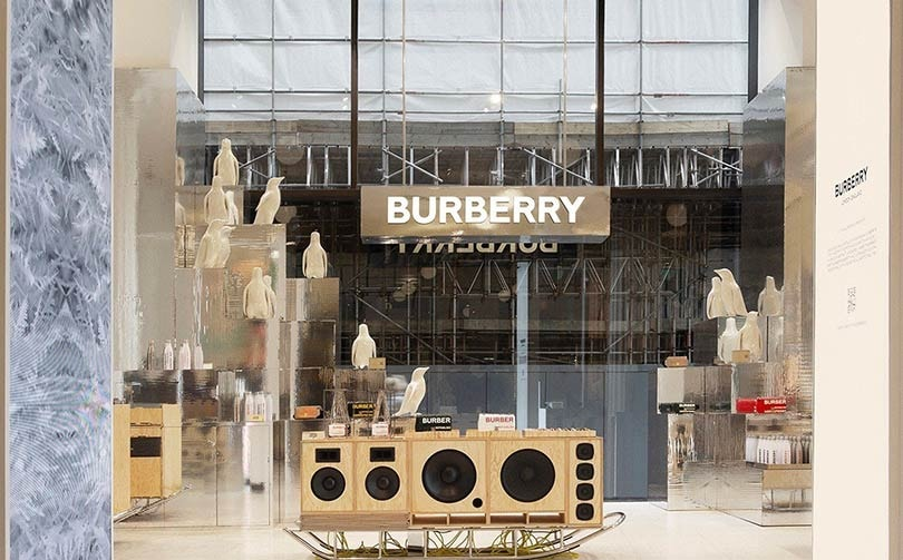 Burberry celebrates polar exploration with Selfridges Corner Shop pop-up