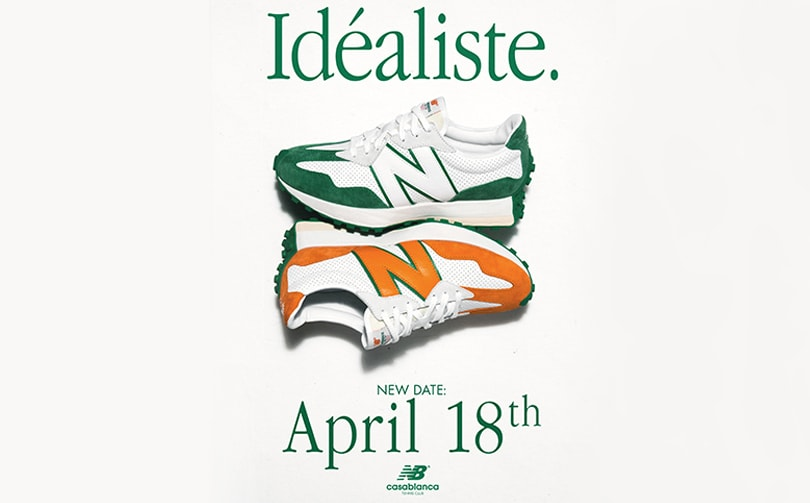 NEW LAUNCH DATE - Casablanca x New Balance - 18th April 2020
