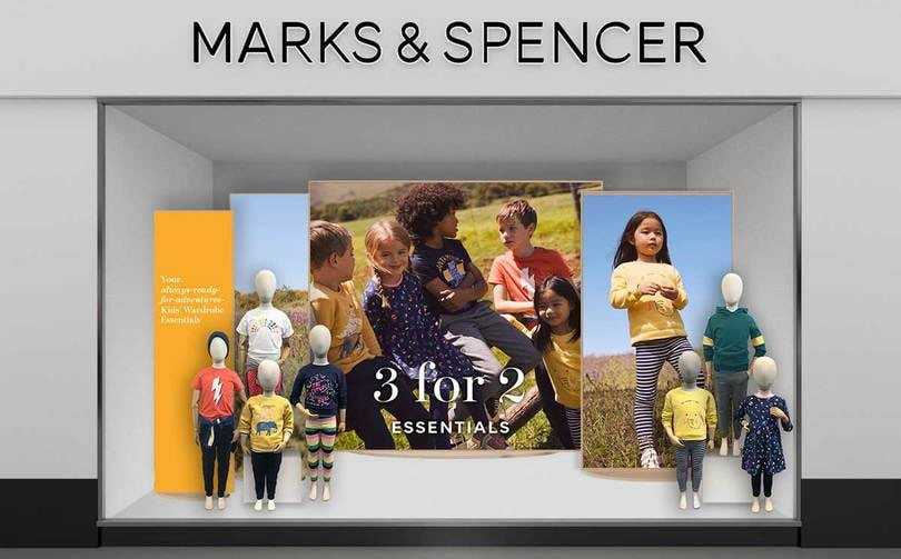 Marks & Spencer swings to loss