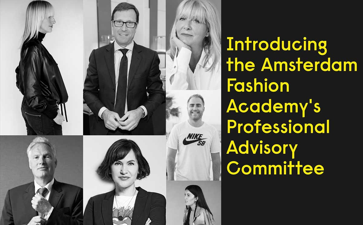 Amsterdam Fashion Academy announces Advisory Committee