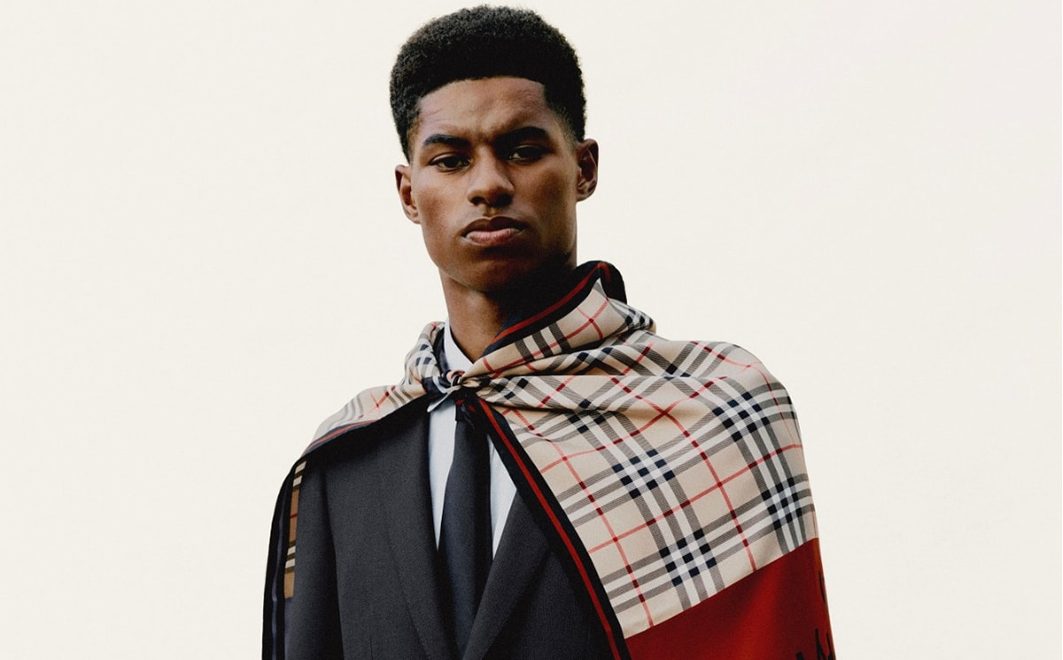 Burberry encouraged by recovery despite drop in profit
