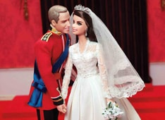William and Kate get their own doll