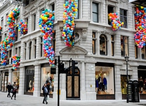 Today in London: J.Crew store opening