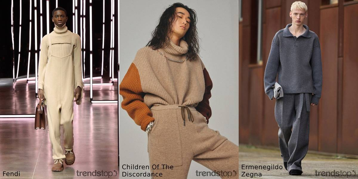 Fall Winter 2021-22 Men's Catwalk Themes Directions