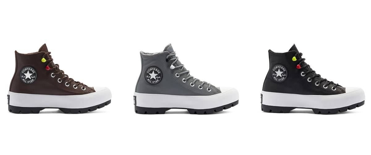 Ready for the sneaker trend autumn with the new Converse fall collection