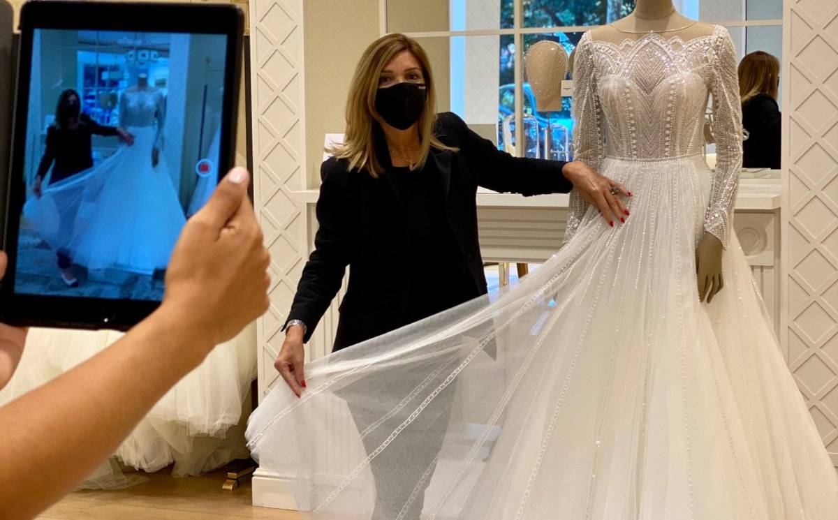 Pronovias Group sees an 810% increase in virtual appointments