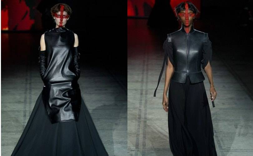 Gareth Pugh prepares for battle at London Fashion Week