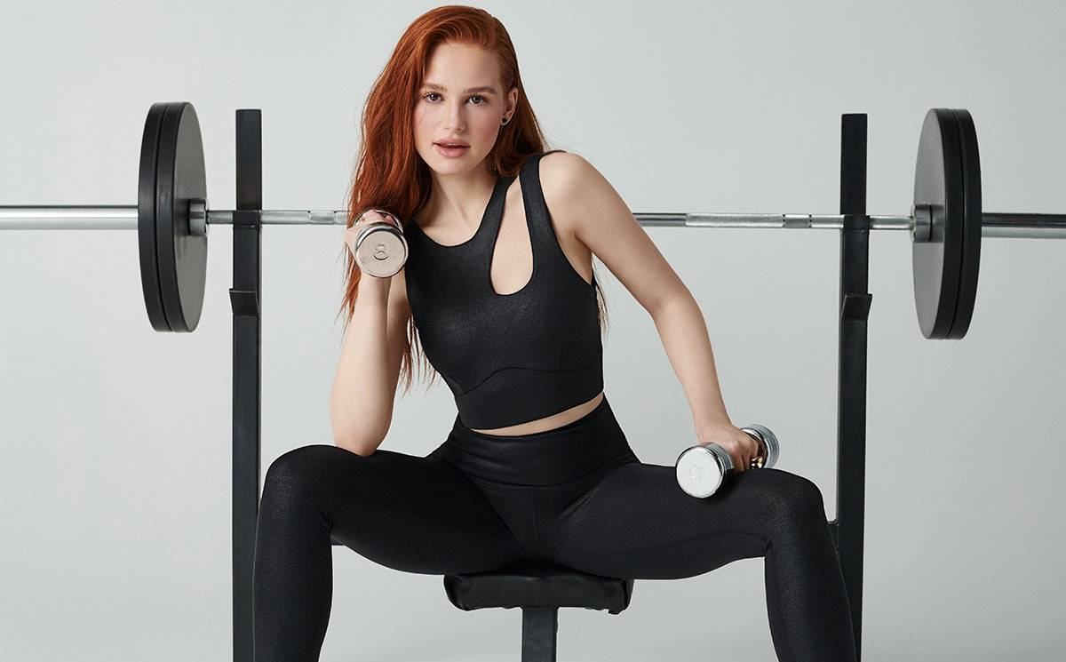 Fabletics collaborates with Madelaine Petsch