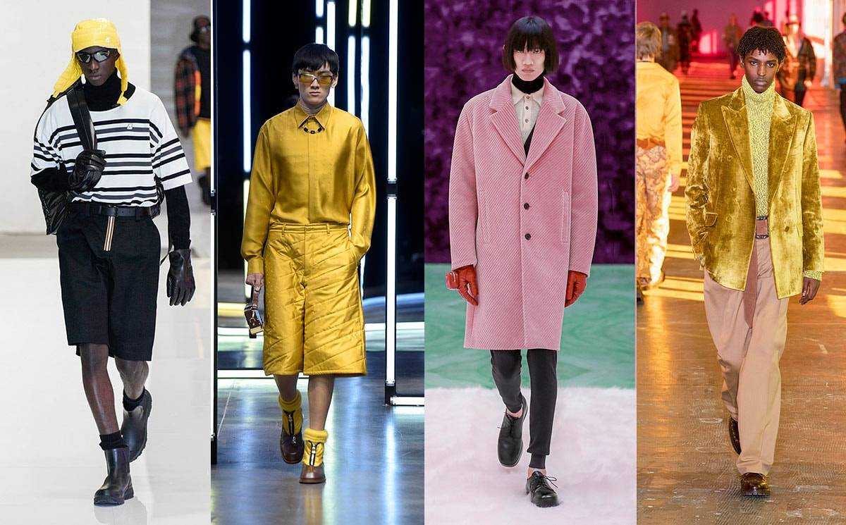 Milan menswear trends reflect the need for a brighter AW21