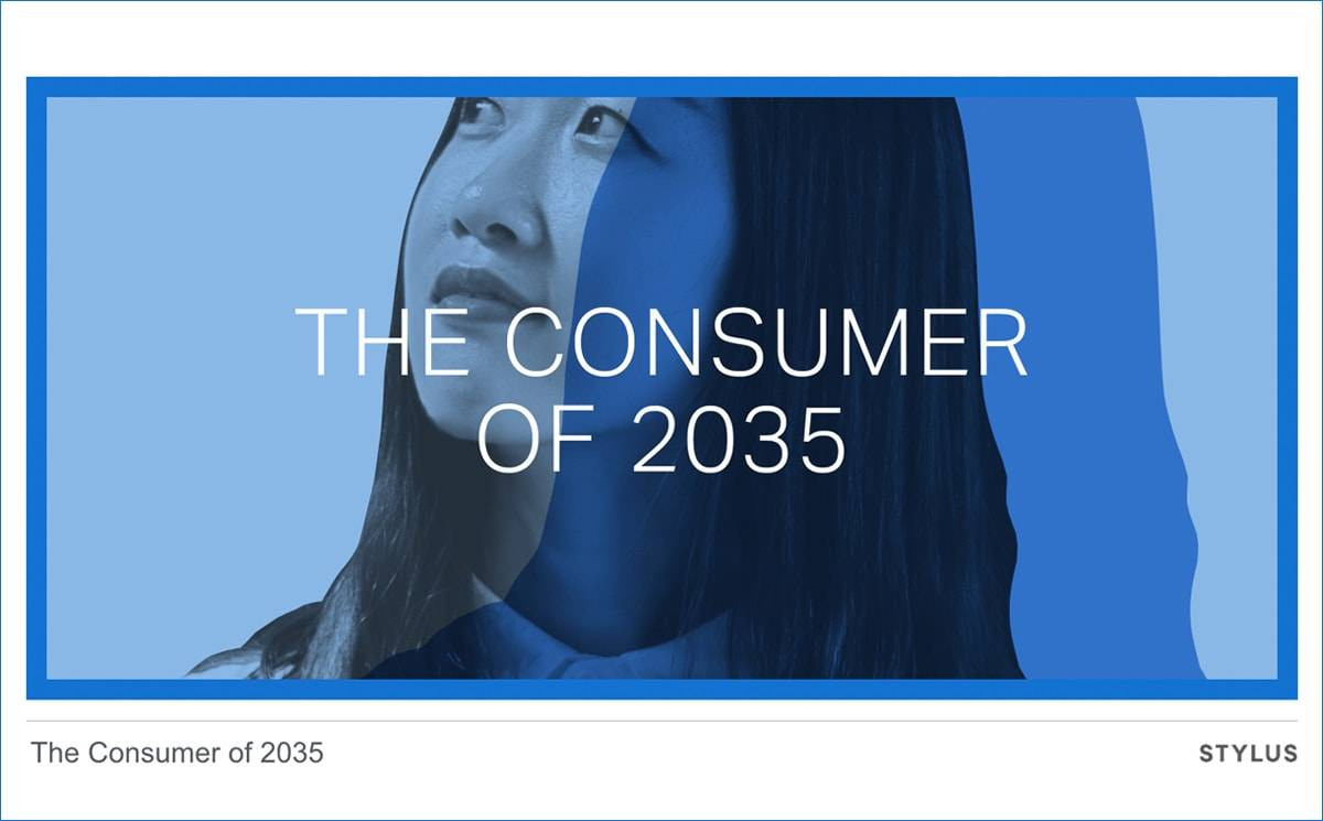 Forget 2020, meet the consumer of 2035