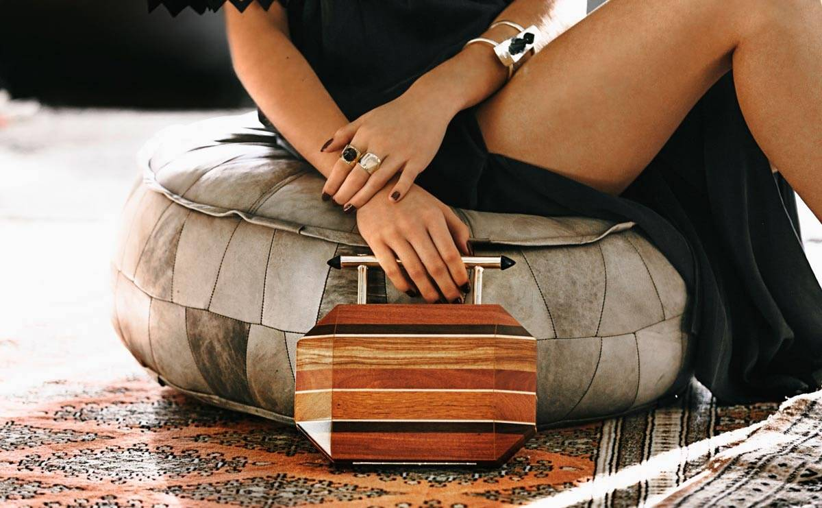 Meet Souf, the brand of luxury accessories made from recycled wood