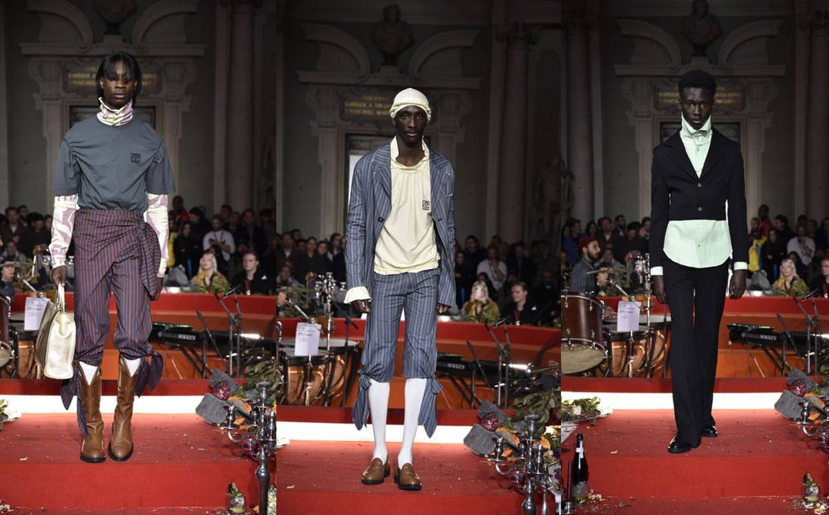 Pitti Uomo 97: Telfar brings brilliant baroque style to Florence