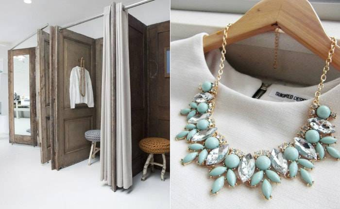 What to keep in mind when decorating fitting rooms