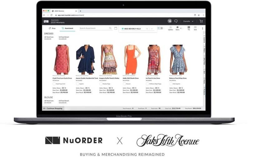 Saks Fifth Avenue invests in digital buying and merchandising processes