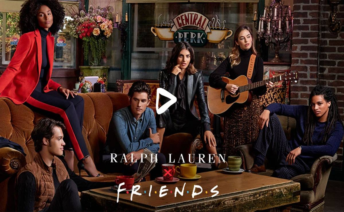 Ralph Lauren creates capsule collection inspired by Friends' Rachel Green