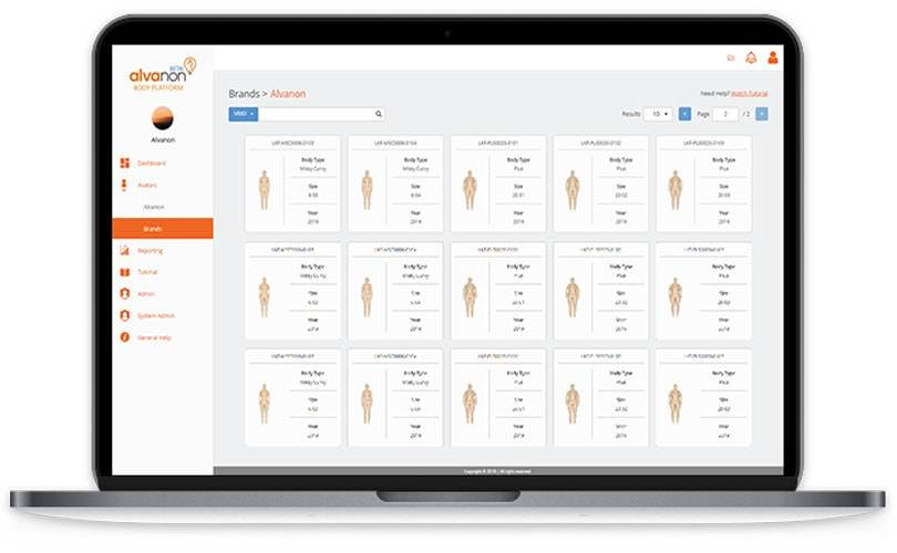Software allows uniform sizing to brands including J.Crew & Lululemon